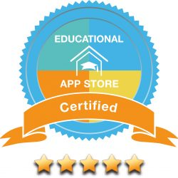 5 stars - Educational App Store Certified